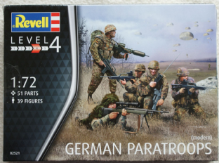 Revell 1/72 RV02521 German Paratroopers (Modern)